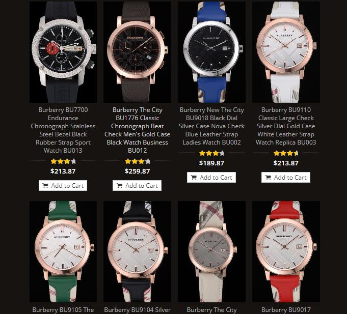 cheap burberry watches replica sale